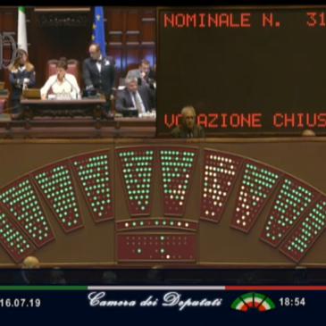La Camera dei Deputati approva la Legge sulla Lettura