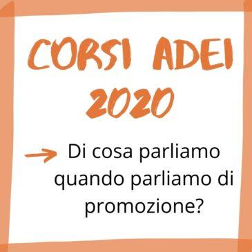 Corsi Adei 2020 – Promozione