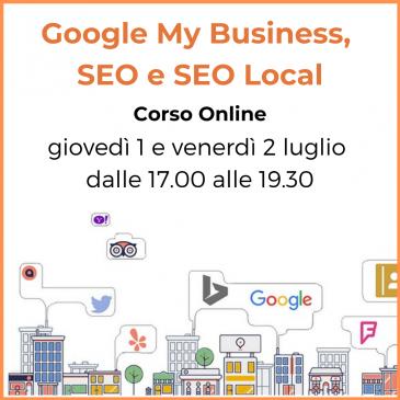 Corsi 2021: Google My Business, SEO e SEO Local