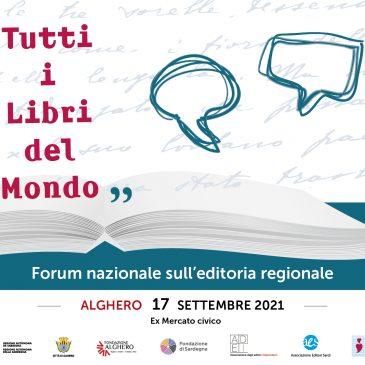"""ADEI e AES ad Alghero per """"Tutti i libri del mondo"""": il 17 settembre il II Forum sull'editoria regionale"""