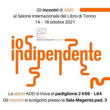 Dal 14 al 18 ottobre  ADEI partecipa al Salone di Torino